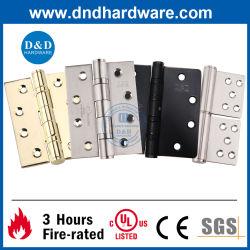 Roestvrijstalen 304 UL ANSI Black Butt door Hardware Hinge Zwaar uitgevoerde veiligheidskogellager metalen portierscharnier