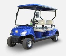최신 판매 파란 전기 골프 카트 4 시트 전기 클럽 차