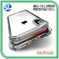 TPU transparenter weicher Fall-Shockproof klopffester Fall-Einfachheits-Telefon-Kasten