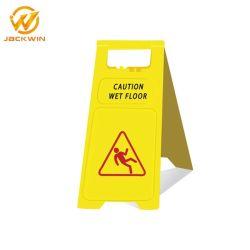 Nasse Fußboden-Warnzeichen-nasse Fußboden-Warnzeichen-Verkehrsschild-Plastikvorsicht-nasser Fußboden-Vorstand