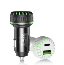 USB C車の充電器極度の小型36Wはデュアルポート車のアダプターUSB車の充電器のPd&QC 3.0 iPhone小型12/12 PRO/Max/12またはiPhone 11/Prのための絶食する