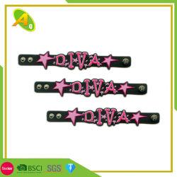 Custom amizade dom decorativos Vertisfy Bracelete Pulseira de Silicone (047)