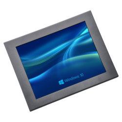 """10.4"""" avec écran tactile industriel a vu l'écran tactile USB"""