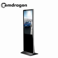 Tela de venda quente 55polegadas quiosque de chão ultra fina tela LCD de Publicidade