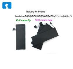 iPhone 4 4s 5 5s 6 6s 7 7s 이동 전화 건전지를 위한 새로운 보충 건전지
