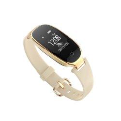 OLED 스크린 IP67를 가진 사랑스러운 지능적인 시계는 애인 형식 시계를 위한 GPS 추적자 선물 시계를 가진 손목 시계를 방수 처리한다