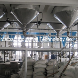 ماكينة صناعة المسحوق الغسيل عالية الكفاءة مع برج الرش