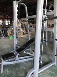 새로운 상업 체육관 장비 다기능 스미스 기계 랙 조절식 시트