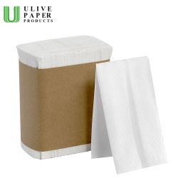 Premium 1ply 2capas múltiples de plegado/Z/N veces la mano toallas de papel