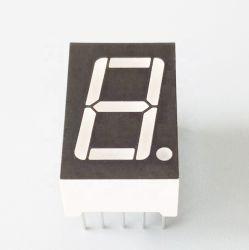 شاشة LED بحجم 0.4 بوصة ذات سبعة مقاطع رقمية واحدة