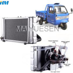 Trator Shifeng Parte motor diesel de Refrigeração de água em alumínio do radiador do tanque, Trocador de Calor do Aftercooler Intercooler, pura Radiador, Resfriador de óleo hidráulico