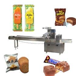 نوع الوسادة نوع Automatic Chocolate/ الخبز / بسكويت / الآيس كريم / Poppsicle / Horizontal تدفق يلفّ طعام يعبّئ آلة