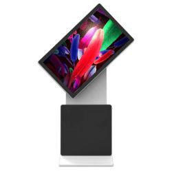 55 polegadas suporte da Tela Rotativa Comercial ecrã LCD de publicidade tudo em um monitor Kiosk