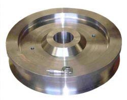عجلات الرافعة الفولاذية المطروقة عالية الدقة من النوع CNC