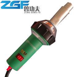 1600 واط بلاستيك بقوة السلاح الجوي الساخن لحام الهواء الساخن البلاستيك مدفع لحام PVC بلاستيك تسخين مسدس درجة الحرارة مع درجة الحرارة Display (شاشة العرض