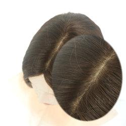 Cabelo humano Wigs Virgem cabelo Wig Remy cabelo Senhora Wigs e Sheitels Jewish Wig Kosher Wig Hair Weg Silk Top Wigs e Lace Wigs cabelo Wig com renda total