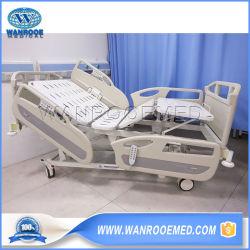 Paziente elettrico per terapia intensiva regolabile con cinque funzioni di chirurgia ospedaliera Letto di cura per infermieri