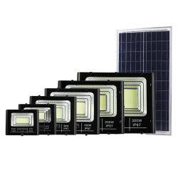 콜드 화이트 LED 태양광 플러드 라이트 실외 방수 25W 40W 60W 100W 200W 300W