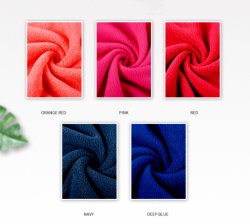Stevige Kleur van de Polyester van fabriek drukte de In het groot 100% Polaire Vacht voor het Beddegoed van de Kleding af
