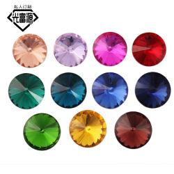 Kleur spitse bodem Rhinestone Satellite Beads Glass Beads Jewelry Accessoires