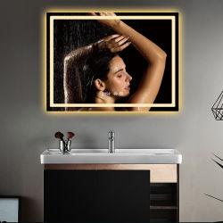 Интерьер отеля Настенный светодиодный сенсорный переключатель наружного зеркала заднего вида с затемнением обогревателя зеркала заднего вида