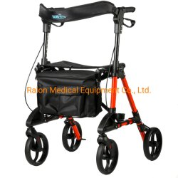 Rollator di alluminio per gli anziani