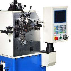 Em 3 eixos da mola de compressão a máquina