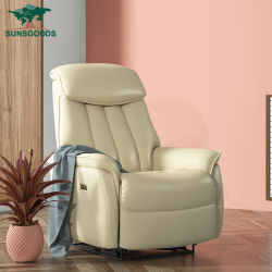 Роскошный классический европейский дизайн Китая в современном стиле кожаный диван наклона