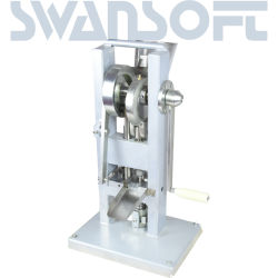 Swansoft 고품질 /Tdp-0 /Hand-Operated /Mini 유형을 만드는 수동 단 하나 펀치 정제 압박 환약 압박 기계/환약