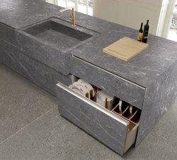 Металлокерамические серого камня и по современному ванная комната искусственного панели в посудомоечной машине