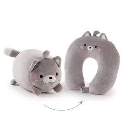 Cartoon Body el mejor cinturón de seguridad Beads Bead Micro Bead ANIME patrón personalizado animales Pillow cuello