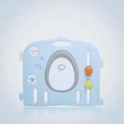 Hot vendre Nouvelle conception multifonctionnelle de la sécurité intérieure en plastique pour les enfants jouer Yard clôture Parc pour bébé