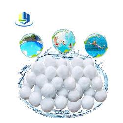700G تفريغ التغليف كرات مرشح حمام السباحة بوليستر الألياف كرات مرشح لعلاج الماء