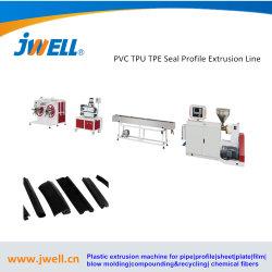 PVC TPU TPE 밀봉 스트립 프로파일 돌출 라인