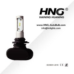 S1 최고 밝은 4000lm LED 헤드라이트 장비 H4/H3/H7/9005/9006