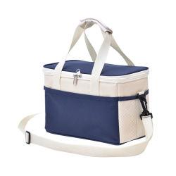 Для использования вне помещений Пикник обед Eco пакет продуктов питания мешок льда портативный одним плечом многоразовые школьных обедов сумка
