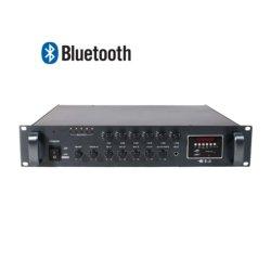 Zonen-Mischer-Endverstärker des PA-Systems-2u Bluetooth 6 mit Anschlusswerten von 70/130/260/360/500/650W, Ausgabe des Lautsprecher-100V/70V/4-16ohm