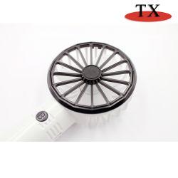 Pilha recarregável mini USB de plástico portátil ventilador pequeno fã de esportes