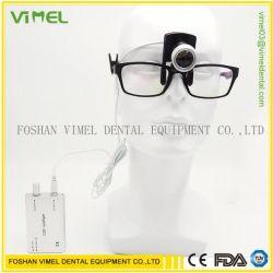 クリップが付いている歯科外科医学の双眼ルーペのための携帯用ヘッドライトランプ