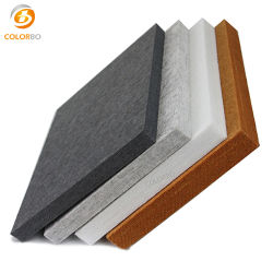 Fortschrittliche Technologien und 50% recyceltes Material Polyester Fiber Acoustic Panel