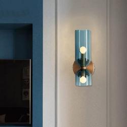 Sala de Estar moderno quarto corredor da lâmpada de vidro candeeiro de parede de Cabeceira