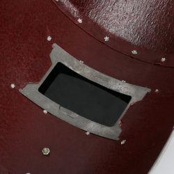 빨간색 강철 종이 용접 헬멧