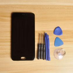 Sinbeda 100% testado Pantalla LCD para Meizu Mx6 Monitor LCD de ecrã táctil de substituição do conjunto de digitalização a preto/branco Cola ++Tools