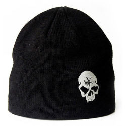 Moda Hombre Mujer Unisex cráneo clásico bordado personalizado de impresión plana caliente tejer Beanie Hat