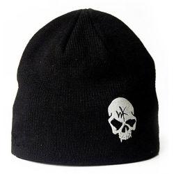Hommes Femmes crâne unisexe broderie tricot ordinaire Beanie Hat personnalisé