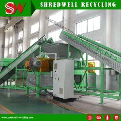 타이어 재활용을 위한 이중축 폐기물/폐기/사용한 타이어 분쇄 공장