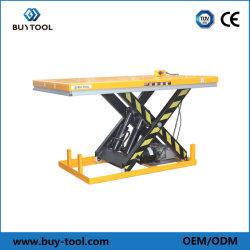 Table élévatrice à ciseaux électrique hydraulique Buytool /la table élévatrice avec la CE a approuvé