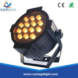 14X10W 4 em 1 LED RGBW equipamento de iluminação de palco par de Zoom