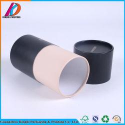 Черный цилиндр картон бумага трубе с помощью специального проекта