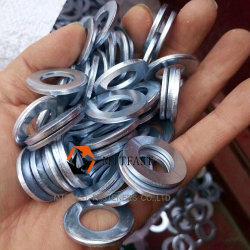 Rondelle plate en acier au carbone galvanisé DIN125A